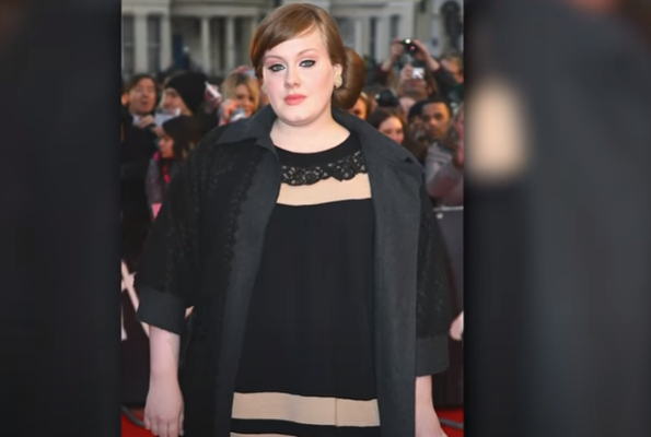It all seemed to happen pretty fast but if you remember all the way back then as I did not look the way she does now. At the 2008 Brit Awards Adele actually wore a recycled dress that she used at another event just a few weeks prior.
